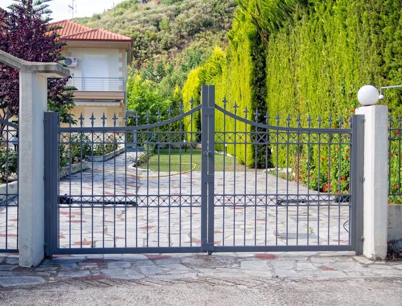 iron security gate aurora il